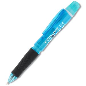 Neon Tri-Twist Pen/Highlighter/Pencil