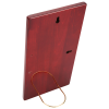 Rosewood Finished Plaque with Aluminum Plate - 12