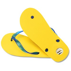 Key Largo Bottle Opener Flip Flops Image 1 of 2