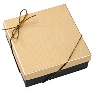 Chocolate Heart Box with Confection - Gold Box Image 6 of 11