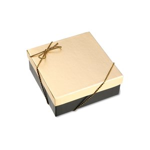 Chocolate Heart Box with Confection - Gold Box Image 10 of 11