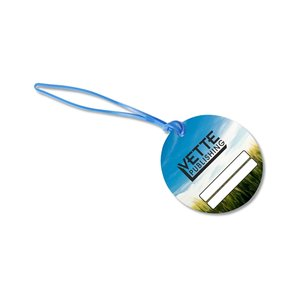 Round POLYspectrum Bag Tag - Opaque