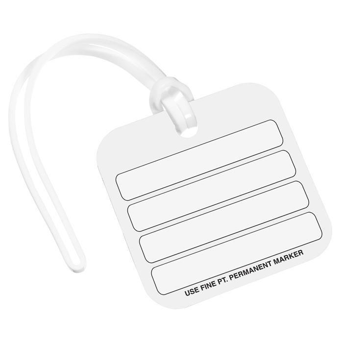 4imprint Com Square Polyspectrum Bag Tag