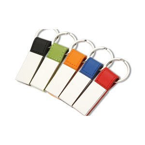 Colorplay Leatherette Key Ring Image 1 of 1