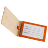 View Image 3 of 5 of Colorplay Double Leather Luggage Tag