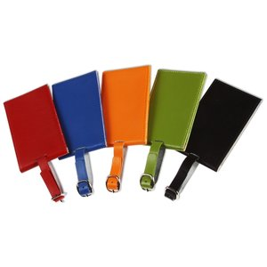 Colorplay Double Leather Luggage Tag Image 1 of 2