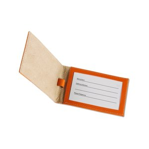 Colorplay Double Leather Luggage Tag