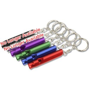 Metal Whistle Keychain Image 1 of 1