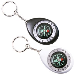 Oval Compass Key Tag Image 1 of 1