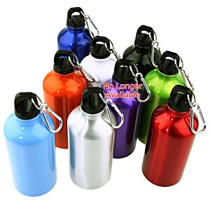 Lil' Shorty Aluminum Sport Bottle - 17 oz. - 24 hr Image 2 of 2