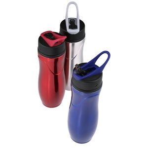 Saratoga Stainless Sport Bottle - 28 oz. Image 1 of 2