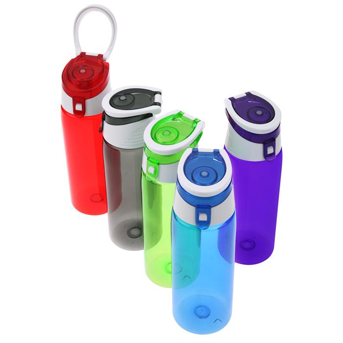 Best Sports Bottle Uk: Custom 4imprint.com: Tritan Flip Top Sport Bottle
