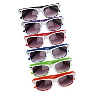 Risky Business Sunglasses - Two Tone - 24 hr Image 3 of 4