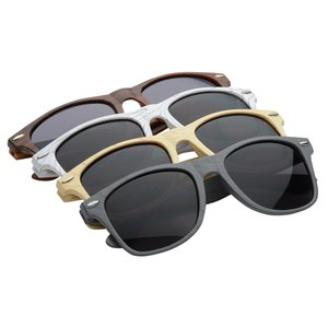 Risky Business Sunglasses - Wood Grain - 24 hr Image 1 of 1