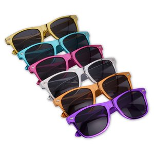 Risky Business Sunglasses - Metallic Image 1 of 1