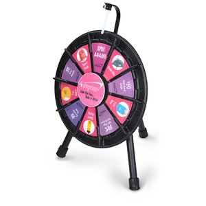 Micro Tabletop Prize Wheel with Case