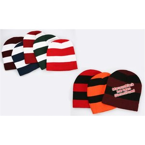 Rugby Knit Beanie Image 1 of 3