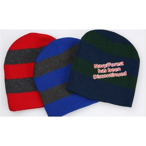 Rugby Knit Beanie Image 3 of 3