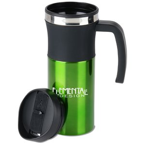 Malmo Travel Mug with Handle - 16 oz. - 24 hr Image 2 of 2
