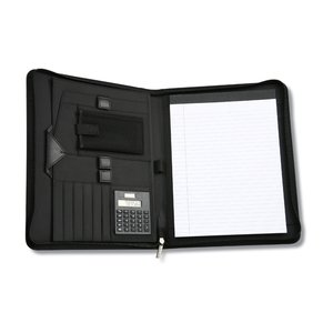 Wingtip Zippered Padfolio Image 1 of 2