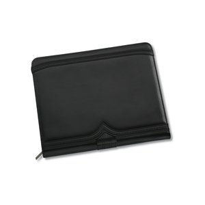 Wingtip Zippered Padfolio Image 2 of 2
