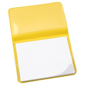 Fold-Over Adhesive Notes Pad - Opaque Image 1 of 2