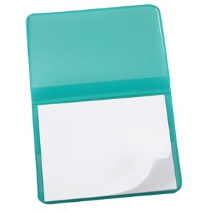 Fold-Over Adhesive Notes Pad - Translucent Image 2 of 2