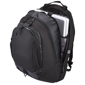 Life in Motion Primary Laptop Backpack - Embroidered Image 2 of 2