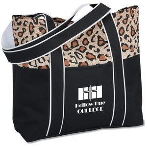 West Hampton Tote - Leopard Image 1 of 1