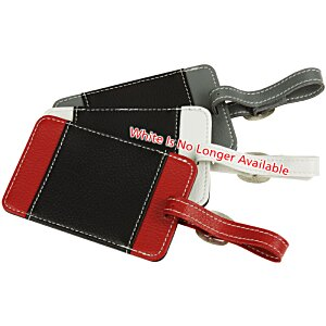 Lamis Two-Tone Luggage Tag Image 1 of 3