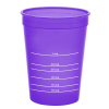 View Image 3 of 3 of Translucent Stadium Cup with Measurements- 16 oz.
