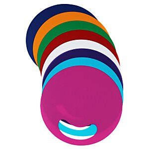 Breezin' Plastic Hand Fan - Round Image 1 of 2
