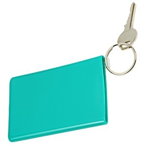 Card Keeper with Keychain - Opaque Image 1 of 1