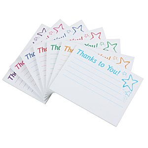 Post-it® Recognition Notes - 3x4 - 25 Sheet - Thanks to You Image 1 of 3
