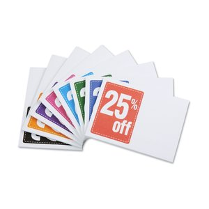"Post-it® Discount Coupons - 3"" x 4"" - 25 Sheet - 25%"