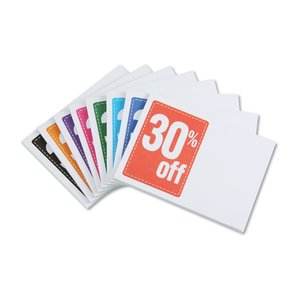 "Post-it® Discount Coupons - 3"" x 4"" - 25 Sheet - 30%"