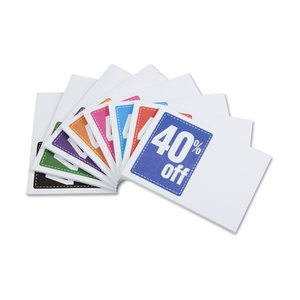 "Post-it® Discount Coupons - 3"" x 4"" - 25 Sheet - 40%"