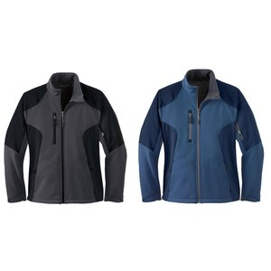North End Colorblock Soft Shell Jacket - Ladies' Image 2 of 2