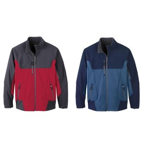 North End Colorblock Soft Shell Jacket - Men's Image 1 of 2
