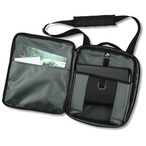 Life in Motion Netbook Vertical Laptop Bag - Embroidered
