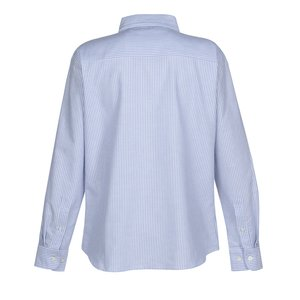 Blue Generation Long Sleeve Oxford - Ladies' - Stripes Image 2 of 2
