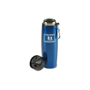 Stainless Bottle with Carabiner - 24 oz. Image 2 of 2