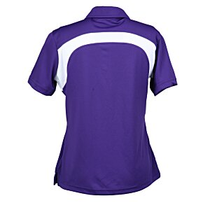 Extreme Performance Color-Block Textured Polo - Ladies' Image 1 of 1