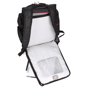 elleven Checkpoint-Friendly Laptop Backpack - Embroidered Image 2 of 5