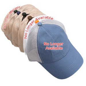 Washed Cotton Mesh Back Cap Image 2 of 2