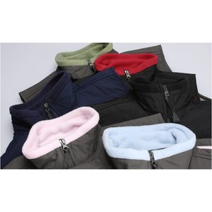 Cienna Fleece Vest w/Nylon Panel - Ladies' Image 1 of 1