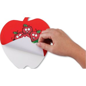Repositionable Sticker Sign - Apple