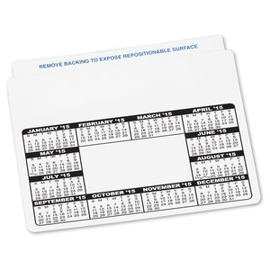 Repositionable Sticker - Schedule - Small Image 2 of 2
