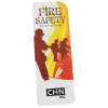 View Extra Image 1 of 2 of Just the Facts Bookmark - Fire Safety - 24 hr