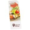 View Extra Image 1 of 2 of Just the Facts Bookmark - Healthy Heart - 24 hr